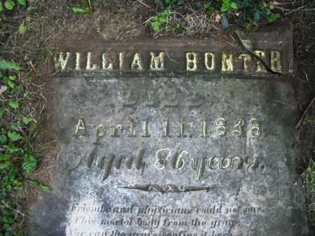 BONTER, WILLIAM - Warren County, Ohio   WILLIAM BONTER - Ohio Gravestone Photos