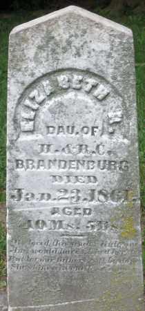 BRANDENBURG, ELIZABETH K. - Warren County, Ohio   ELIZABETH K. BRANDENBURG - Ohio Gravestone Photos