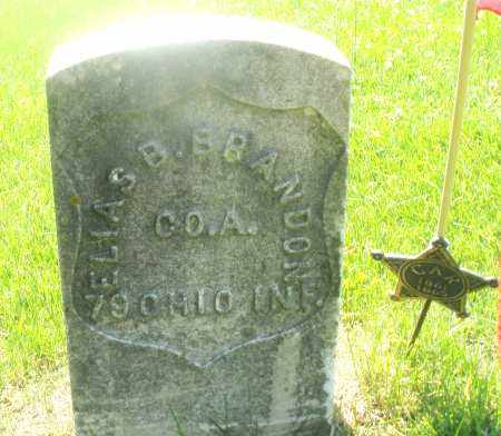 BRANDON, ELIAS B. - Warren County, Ohio | ELIAS B. BRANDON - Ohio Gravestone Photos