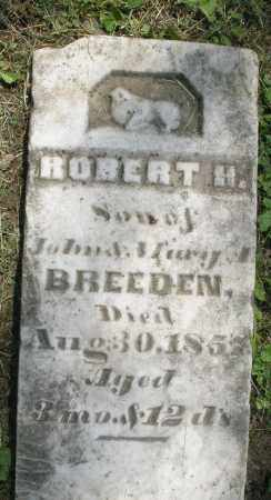 BREEDEN, ROBERT H. - Warren County, Ohio | ROBERT H. BREEDEN - Ohio Gravestone Photos