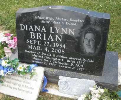 UPDYKE BRIAN, DIANA LYNN - Warren County, Ohio | DIANA LYNN UPDYKE BRIAN - Ohio Gravestone Photos