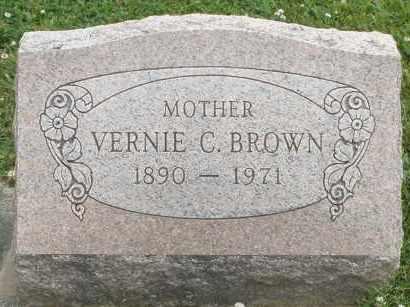 BROWN, VERNIE C. - Warren County, Ohio | VERNIE C. BROWN - Ohio Gravestone Photos