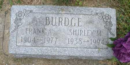 BURDGE, FRANK A. - Warren County, Ohio | FRANK A. BURDGE - Ohio Gravestone Photos