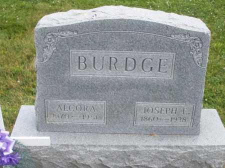 BURDGE, ALCORA - Warren County, Ohio | ALCORA BURDGE - Ohio Gravestone Photos