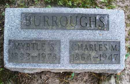 BURROUGHS, CHARLES M. - Warren County, Ohio   CHARLES M. BURROUGHS - Ohio Gravestone Photos