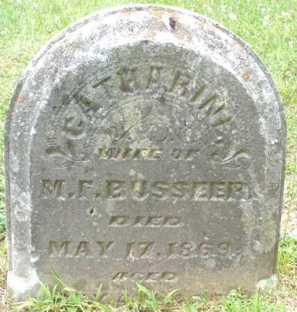 BUSSEER, CATHARINE - Warren County, Ohio | CATHARINE BUSSEER - Ohio Gravestone Photos