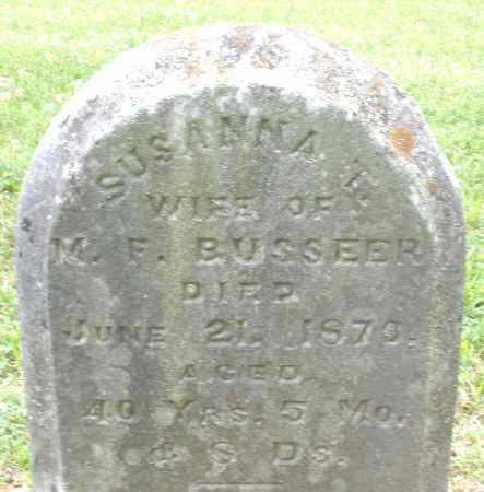 BUSSEER, SUSANNA T. - Warren County, Ohio   SUSANNA T. BUSSEER - Ohio Gravestone Photos