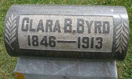 BYRD, CLARA B. - Warren County, Ohio | CLARA B. BYRD - Ohio Gravestone Photos