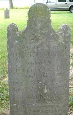 CARTLE, PHEBE - Warren County, Ohio | PHEBE CARTLE - Ohio Gravestone Photos