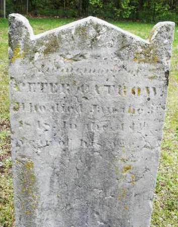 CATROW, PETER C. - Warren County, Ohio | PETER C. CATROW - Ohio Gravestone Photos