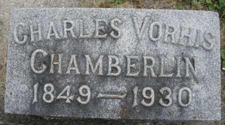 CHAMBERLAIN, CHARLES VORHIS - Warren County, Ohio   CHARLES VORHIS CHAMBERLAIN - Ohio Gravestone Photos