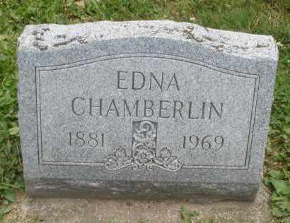CHAMBERLIN, EDNA - Warren County, Ohio | EDNA CHAMBERLIN - Ohio Gravestone Photos