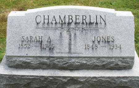 CHAMBERLIN, JONES - Warren County, Ohio | JONES CHAMBERLIN - Ohio Gravestone Photos