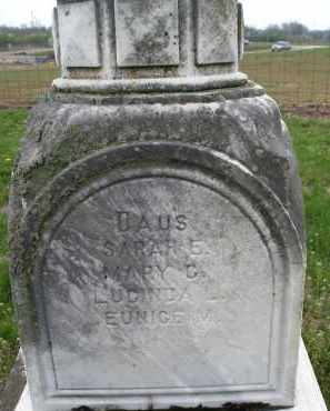 CLARK, EUNICE M. - Warren County, Ohio | EUNICE M. CLARK - Ohio Gravestone Photos