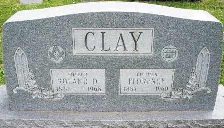 CLAY, FLORENCE - Warren County, Ohio | FLORENCE CLAY - Ohio Gravestone Photos