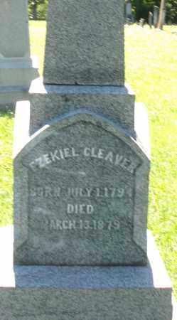 CLEAVER, EZEKIEL - Warren County, Ohio   EZEKIEL CLEAVER - Ohio Gravestone Photos