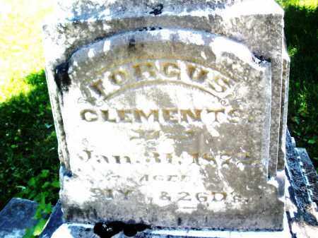 CLEMENTS, FORGUS - Warren County, Ohio | FORGUS CLEMENTS - Ohio Gravestone Photos