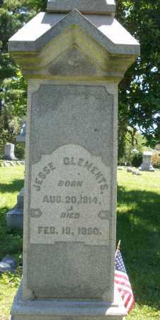 CLEMENTS, JESSE - Warren County, Ohio | JESSE CLEMENTS - Ohio Gravestone Photos