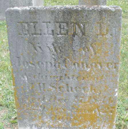 SCHECK? CONOVER, ELLEN L. - Warren County, Ohio | ELLEN L. SCHECK? CONOVER - Ohio Gravestone Photos