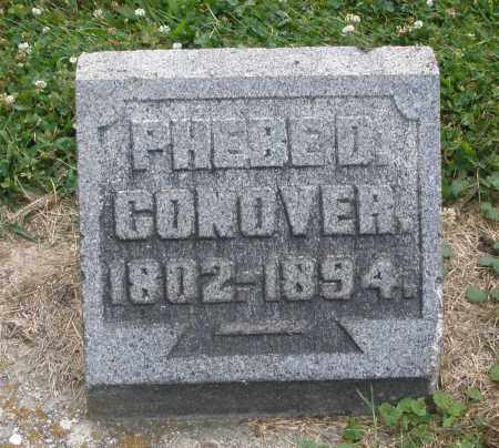 CONOVER, PHEBE D. - Warren County, Ohio | PHEBE D. CONOVER - Ohio Gravestone Photos