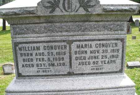 CONOVER, MARIA - Warren County, Ohio   MARIA CONOVER - Ohio Gravestone Photos