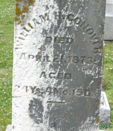 CONOVER, WILLIAM H. - Warren County, Ohio | WILLIAM H. CONOVER - Ohio Gravestone Photos