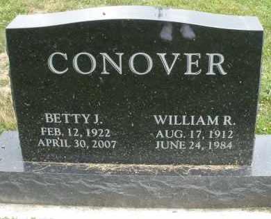 CONOVER, WILLIAM R. - Warren County, Ohio   WILLIAM R. CONOVER - Ohio Gravestone Photos