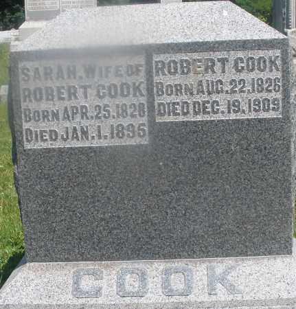 COOK, SARAH - Warren County, Ohio | SARAH COOK - Ohio Gravestone Photos