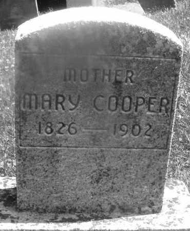 COOPER, MARY - Warren County, Ohio | MARY COOPER - Ohio Gravestone Photos