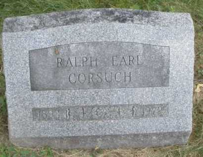 CORSUCH, RALPH EARL - Warren County, Ohio   RALPH EARL CORSUCH - Ohio Gravestone Photos