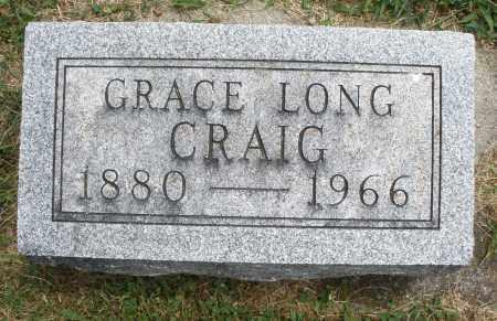 CRAIG, GRACE - Warren County, Ohio   GRACE CRAIG - Ohio Gravestone Photos