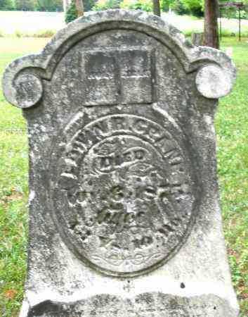 CRANE, EDWIN - Warren County, Ohio | EDWIN CRANE - Ohio Gravestone Photos