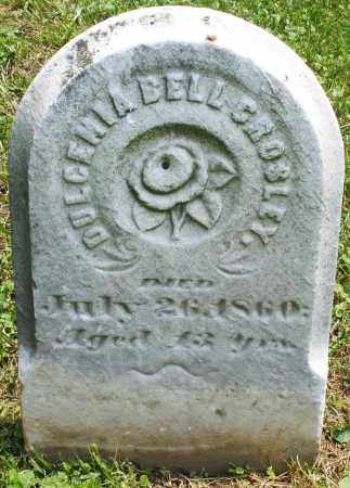 CROSLEY, DULCEMIA BELL - Warren County, Ohio | DULCEMIA BELL CROSLEY - Ohio Gravestone Photos