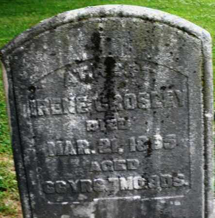 CROSLEY, IRENE - Warren County, Ohio | IRENE CROSLEY - Ohio Gravestone Photos