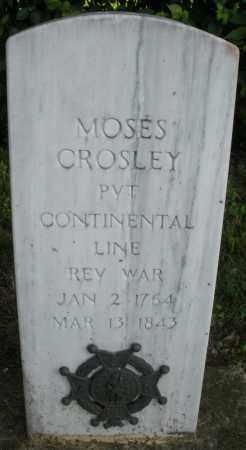 CROSLEY, MOSES - Warren County, Ohio | MOSES CROSLEY - Ohio Gravestone Photos