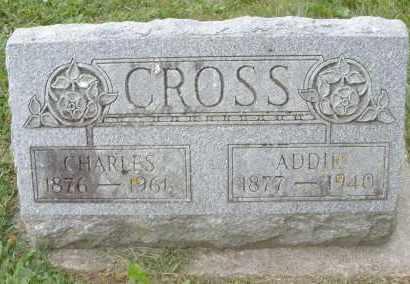 CROSS, CHARLES - Warren County, Ohio | CHARLES CROSS - Ohio Gravestone Photos