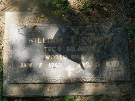 CUMBO, WILLIAM - Warren County, Ohio | WILLIAM CUMBO - Ohio Gravestone Photos