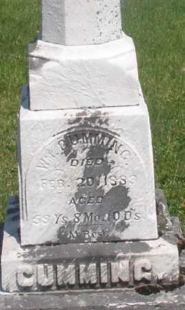 CUMMING, WILLIAM - Warren County, Ohio | WILLIAM CUMMING - Ohio Gravestone Photos