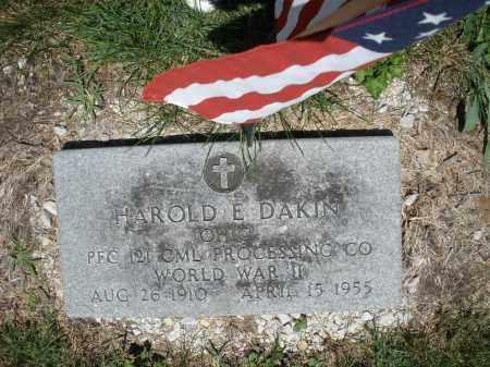 DAKIN, HAROLD E. - Warren County, Ohio | HAROLD E. DAKIN - Ohio Gravestone Photos
