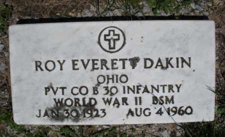 DAKIN, ROY EVERETT - Warren County, Ohio   ROY EVERETT DAKIN - Ohio Gravestone Photos
