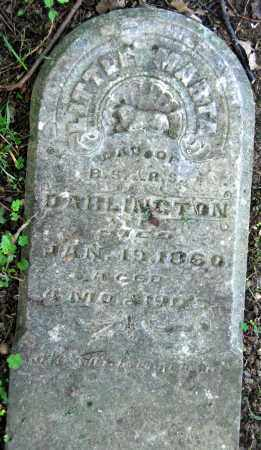 DARLINGTON, MARTHA - Warren County, Ohio | MARTHA DARLINGTON - Ohio Gravestone Photos
