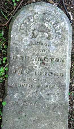 DARLINGTON, MARTHA - Warren County, Ohio   MARTHA DARLINGTON - Ohio Gravestone Photos