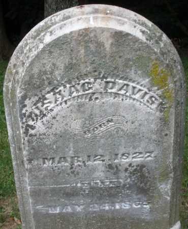 DAVIS, ISAAC - Warren County, Ohio | ISAAC DAVIS - Ohio Gravestone Photos