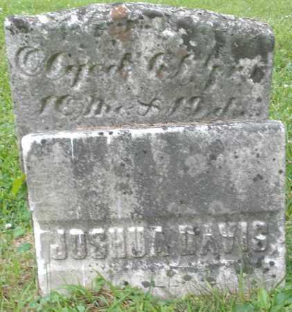 DAVIS, JOSHUA - Warren County, Ohio | JOSHUA DAVIS - Ohio Gravestone Photos