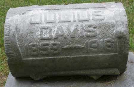 DAVIS, JULIUS - Warren County, Ohio   JULIUS DAVIS - Ohio Gravestone Photos