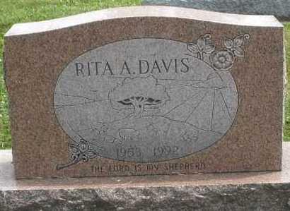 DAVIS, RITA A. - Warren County, Ohio | RITA A. DAVIS - Ohio Gravestone Photos