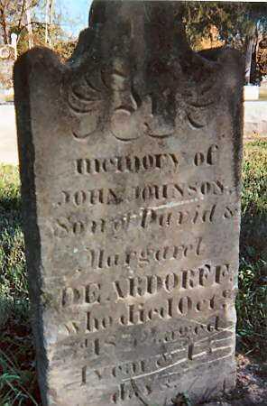 DEARDORFF, JOHN JOHNSON - Warren County, Ohio | JOHN JOHNSON DEARDORFF - Ohio Gravestone Photos