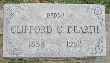 DEARTH, CLIFFORD C. - Warren County, Ohio | CLIFFORD C. DEARTH - Ohio Gravestone Photos
