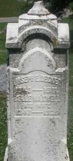MAXWELL DECKER, BELLE - Warren County, Ohio | BELLE MAXWELL DECKER - Ohio Gravestone Photos
