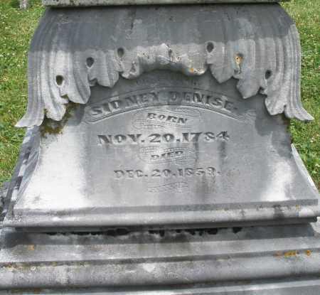 DENISE, SIDNEY - Warren County, Ohio   SIDNEY DENISE - Ohio Gravestone Photos
